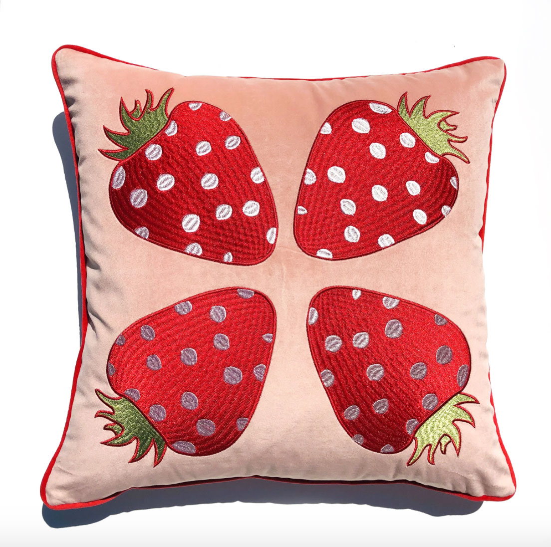 Centinelle Strawberry Pillow