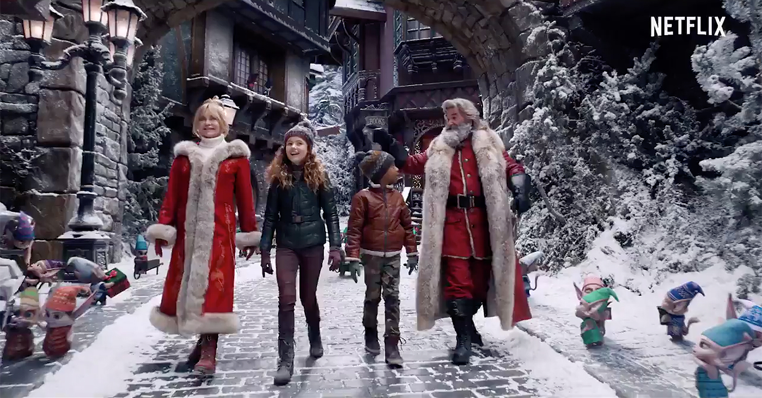 Kurt Russell, Goldie Hawn Save the Holidays in Netflix's Christmas  Chronicles 2 Trailer | PEOPLE.com