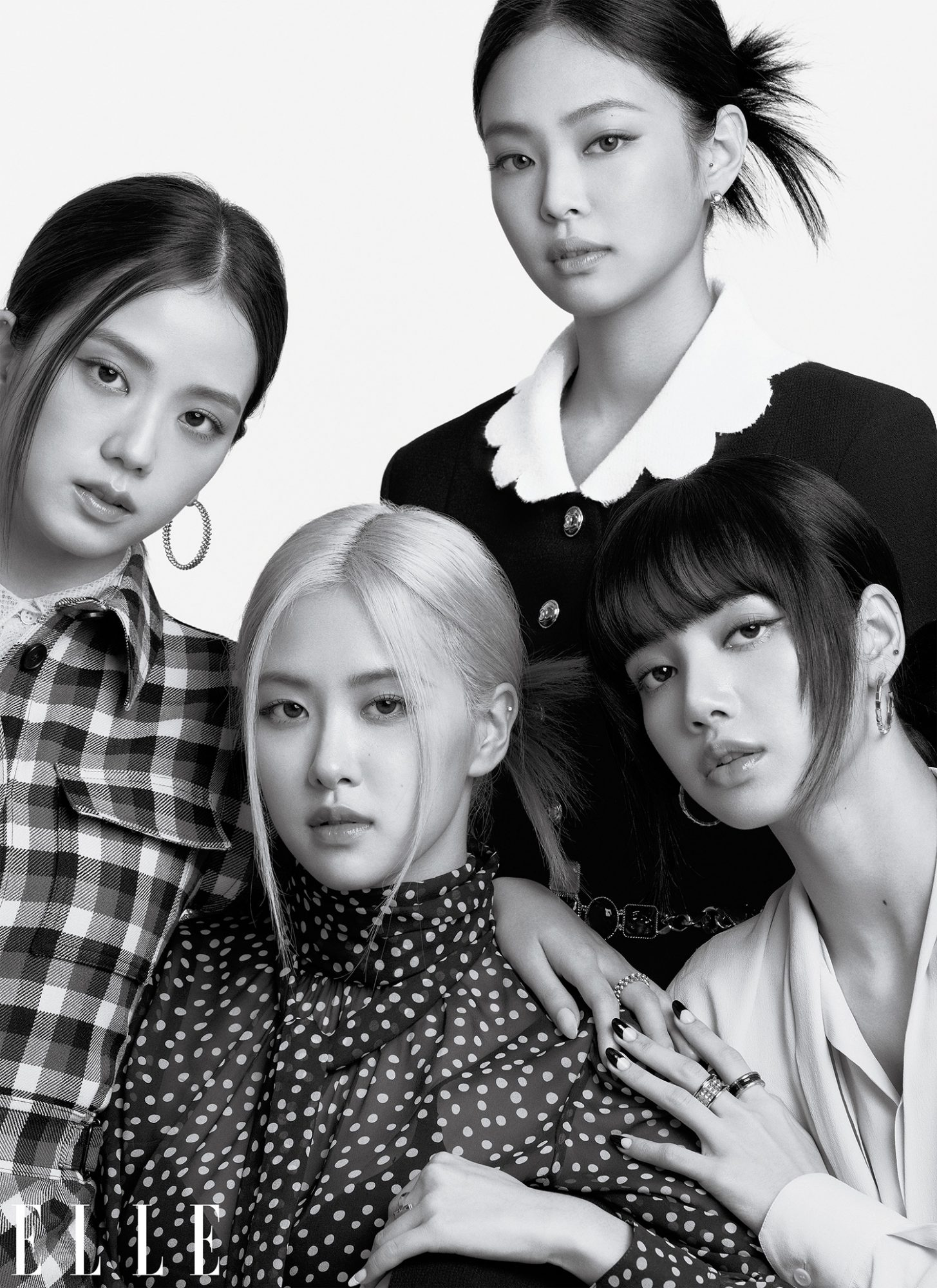 ELLE's October 2020 cover with BLACKPINK