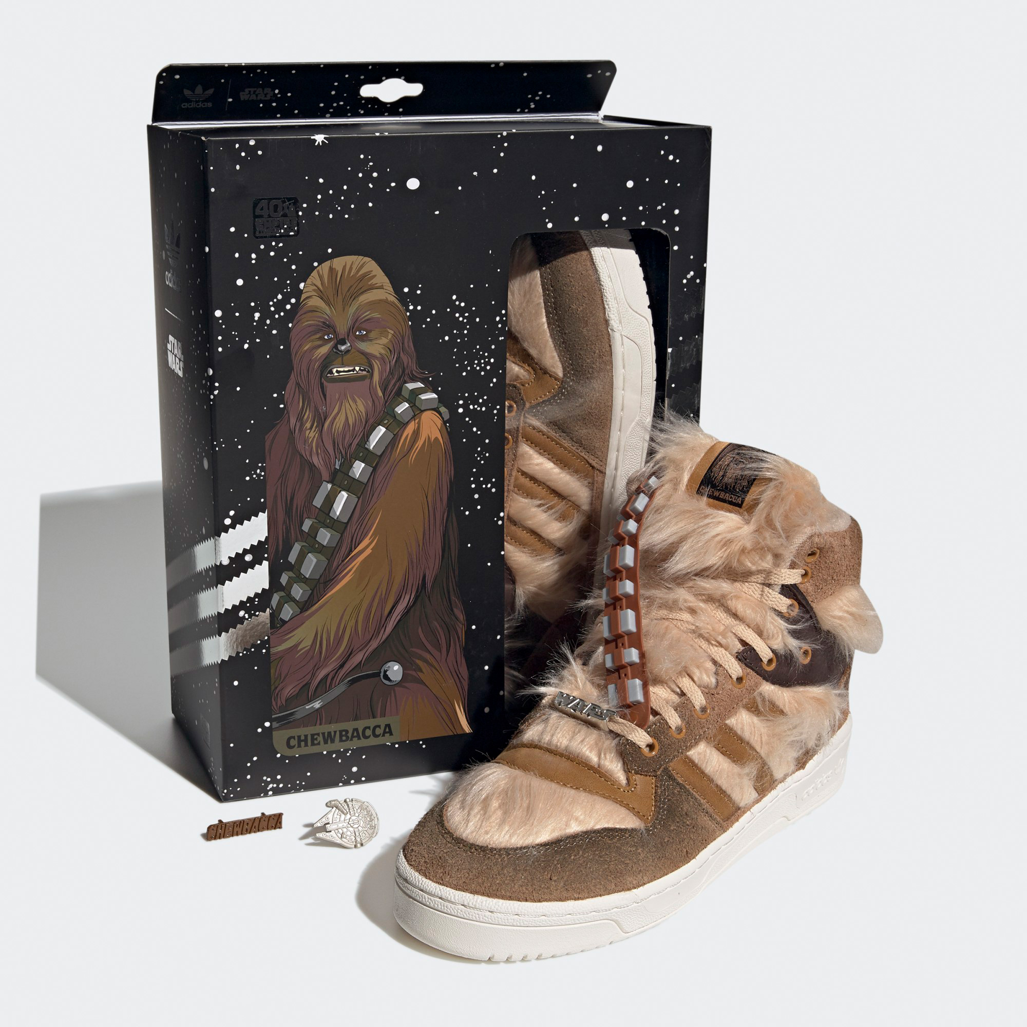 Adidas RIVALRY HI STAR WARS SHOES Ode to Chewbacca