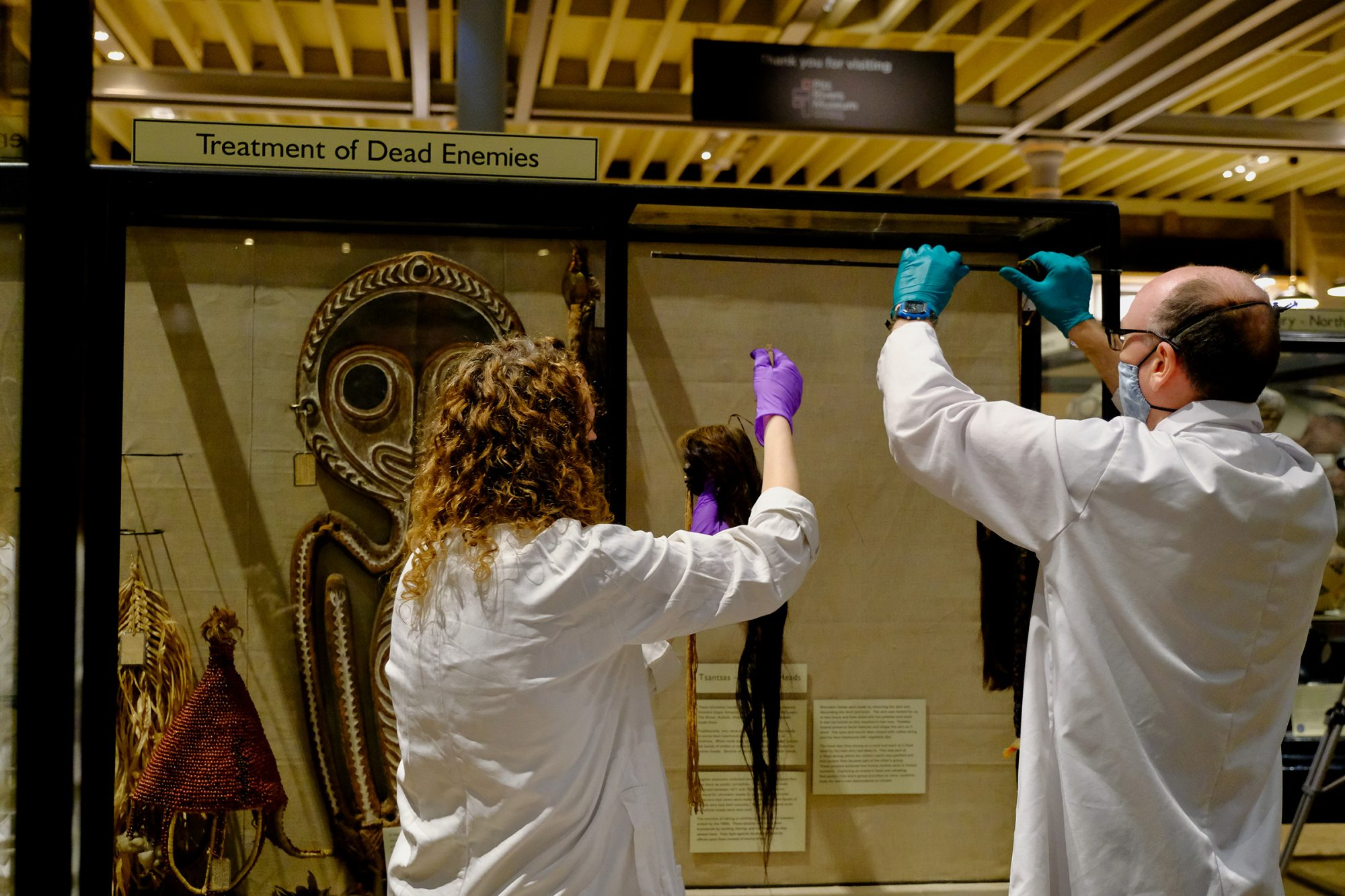 Pitt Rivers Museum reopening reveals critical changes to displays as part of decolonisation process