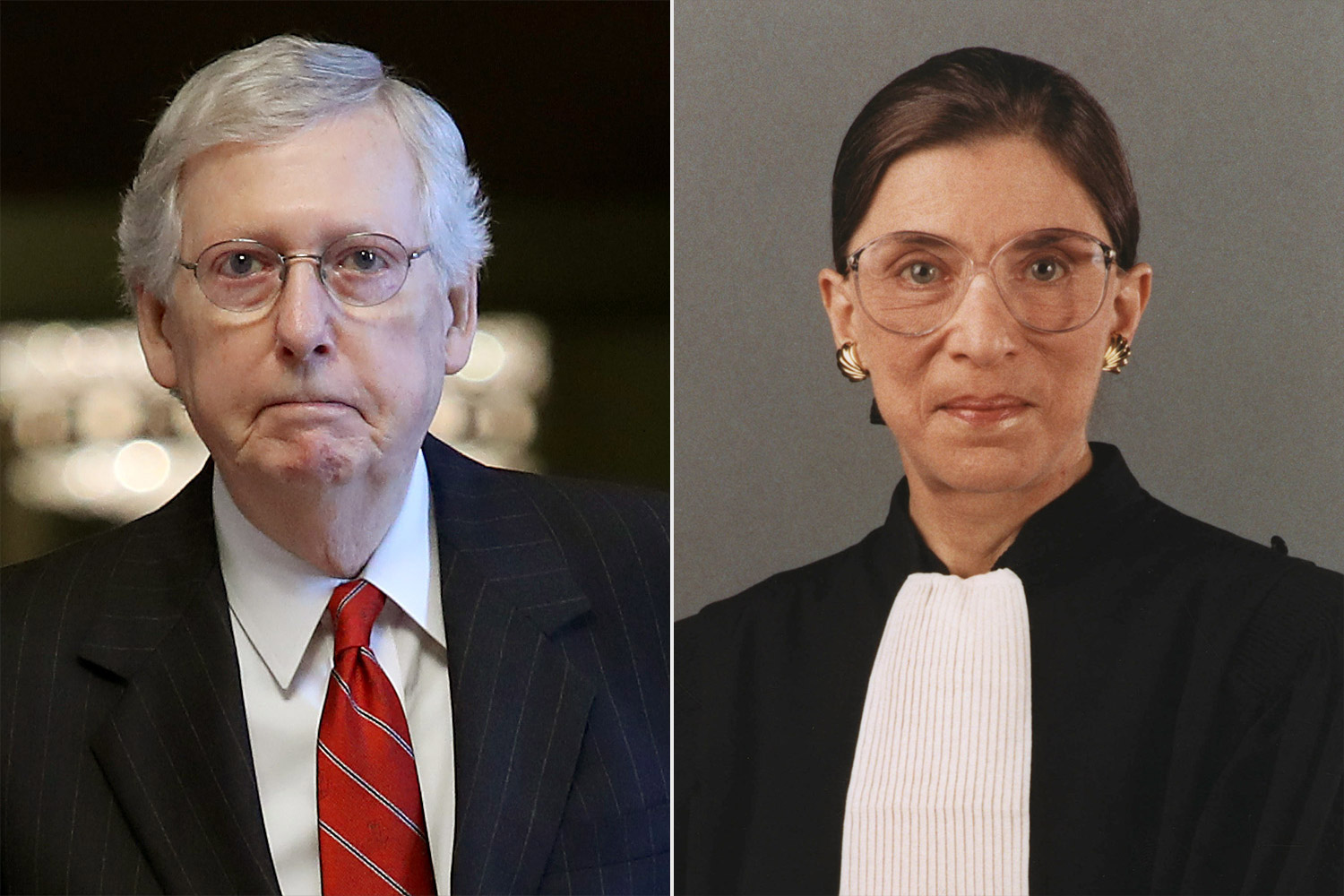 Mitch McConnell, Ruth Bader Ginsburg