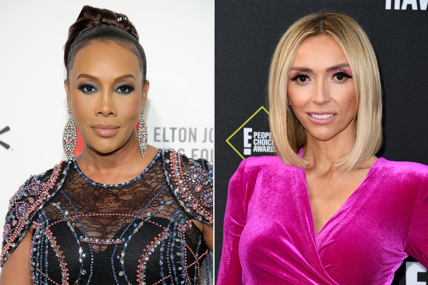 vivica a fox; giuliana rancic