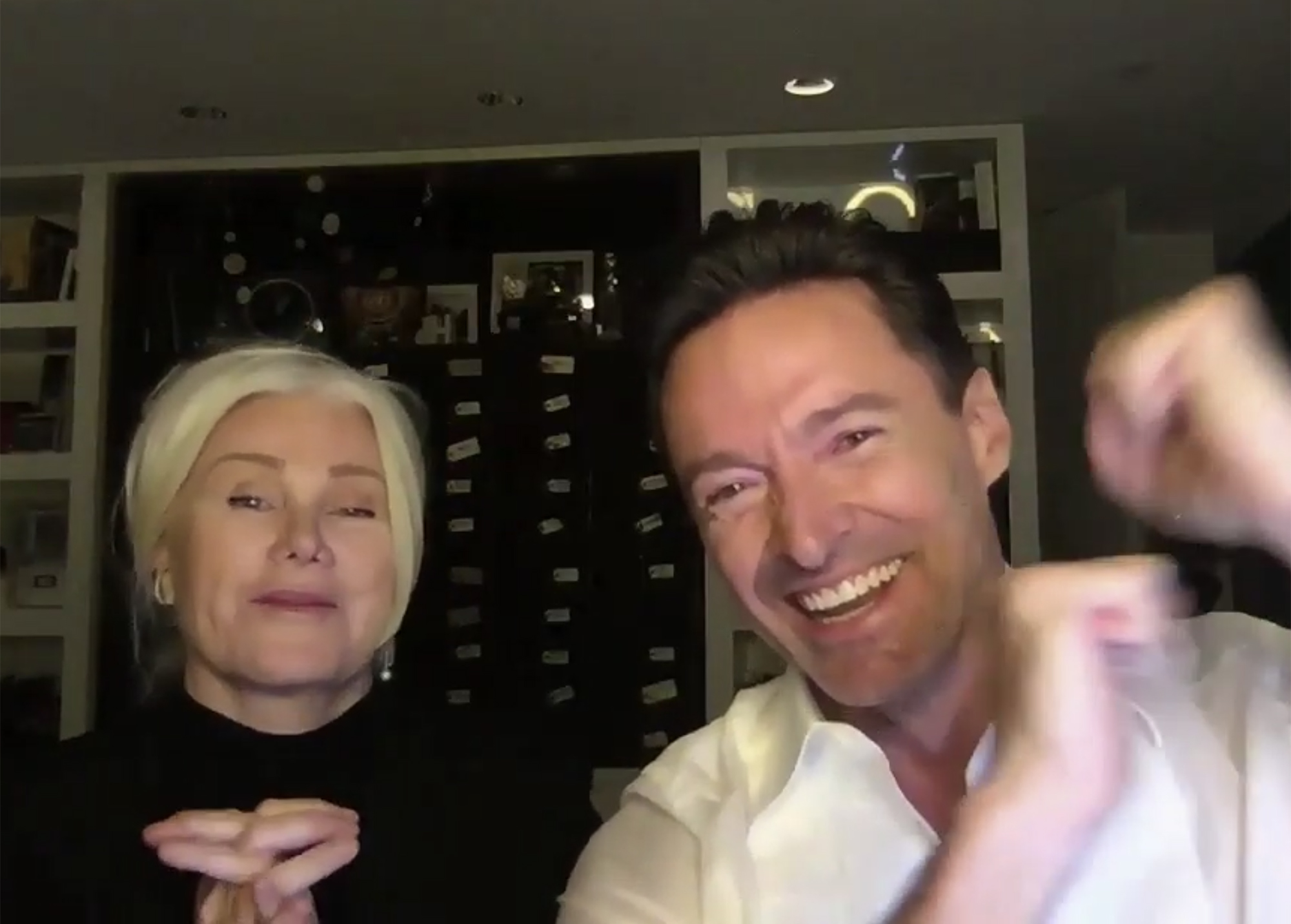 Hugh Jackman & Deborah-Lee Furness