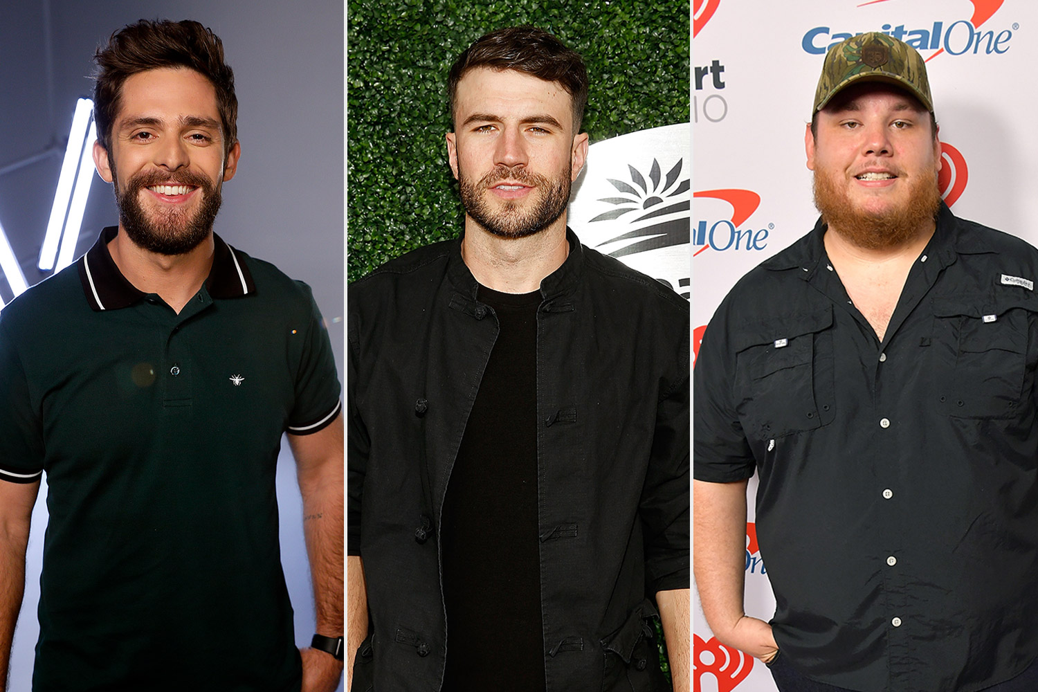 Luke Combs, Sam Hunt and Thomas Rhett