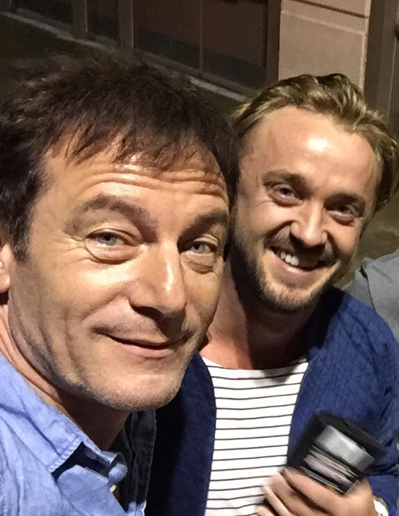 Tom Felton and Jason Isaacs