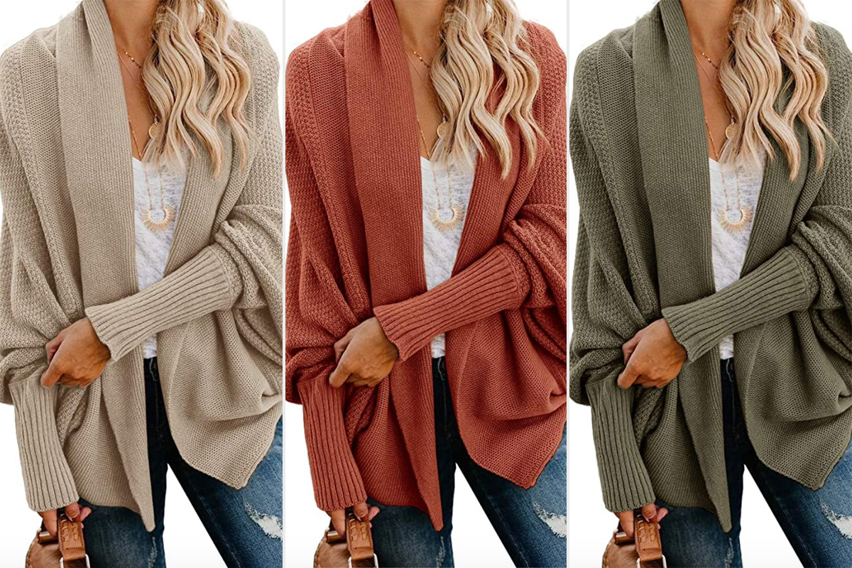 amazon oversized cardigan