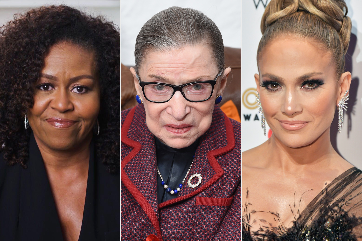 Michelle Obama & Jennifer Lopez Remember 'Friend' Ruth Bader Ginsburg: 'A True Champion'