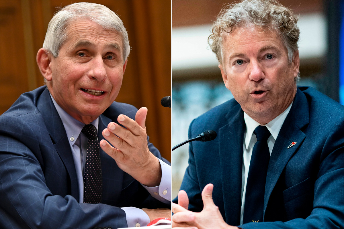 Dr. Fauci & Rand Paul Have Another Tense Senate Exchange: 'You Are Not Listening'