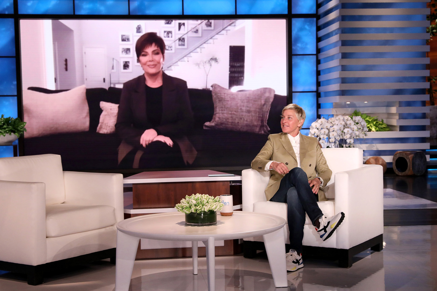 "Kris Jenner, makes an appearance on ""The Ellen DeGeneres Show"""