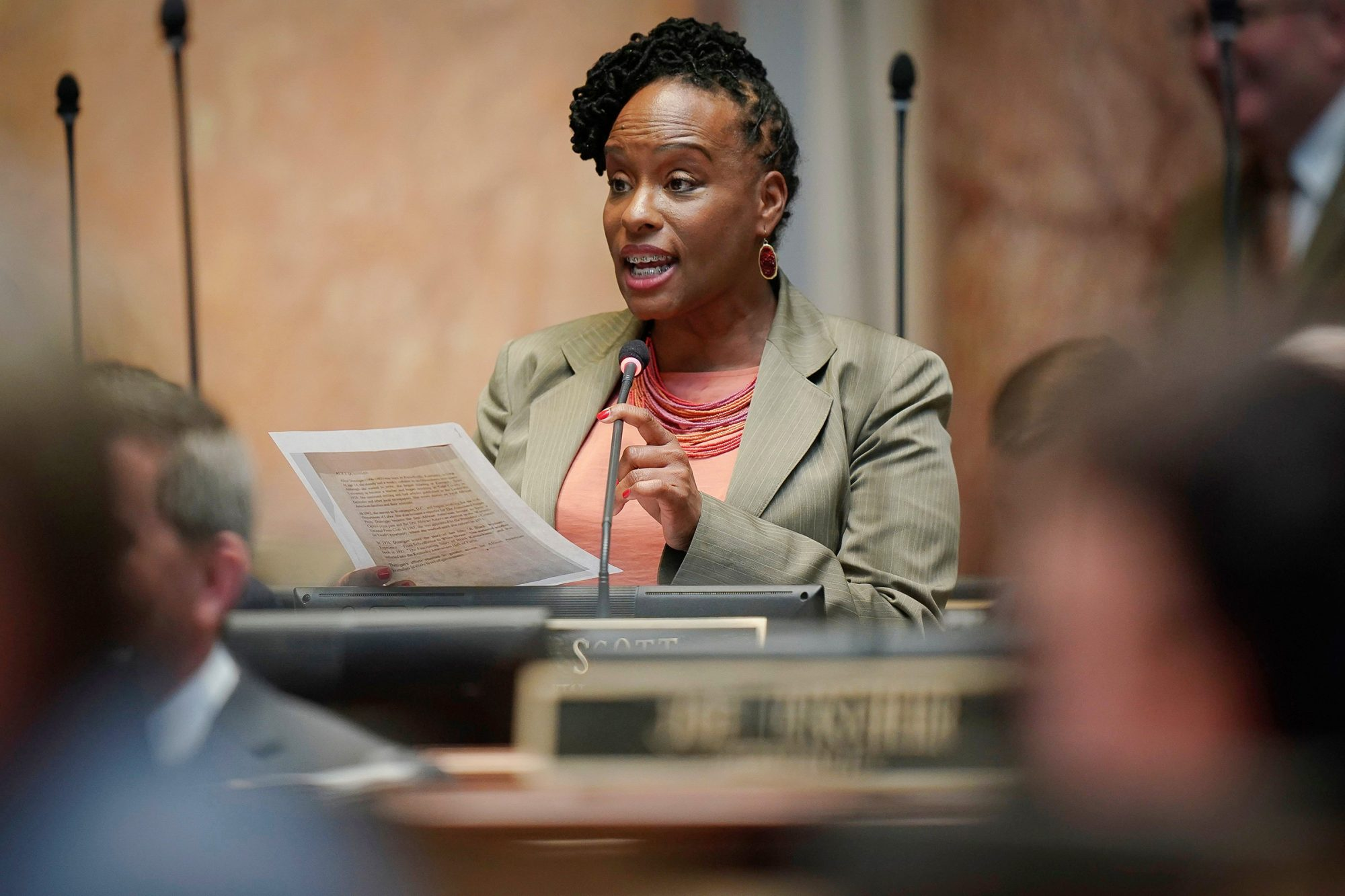 Kentucky Democratic State Representative Attica Scott