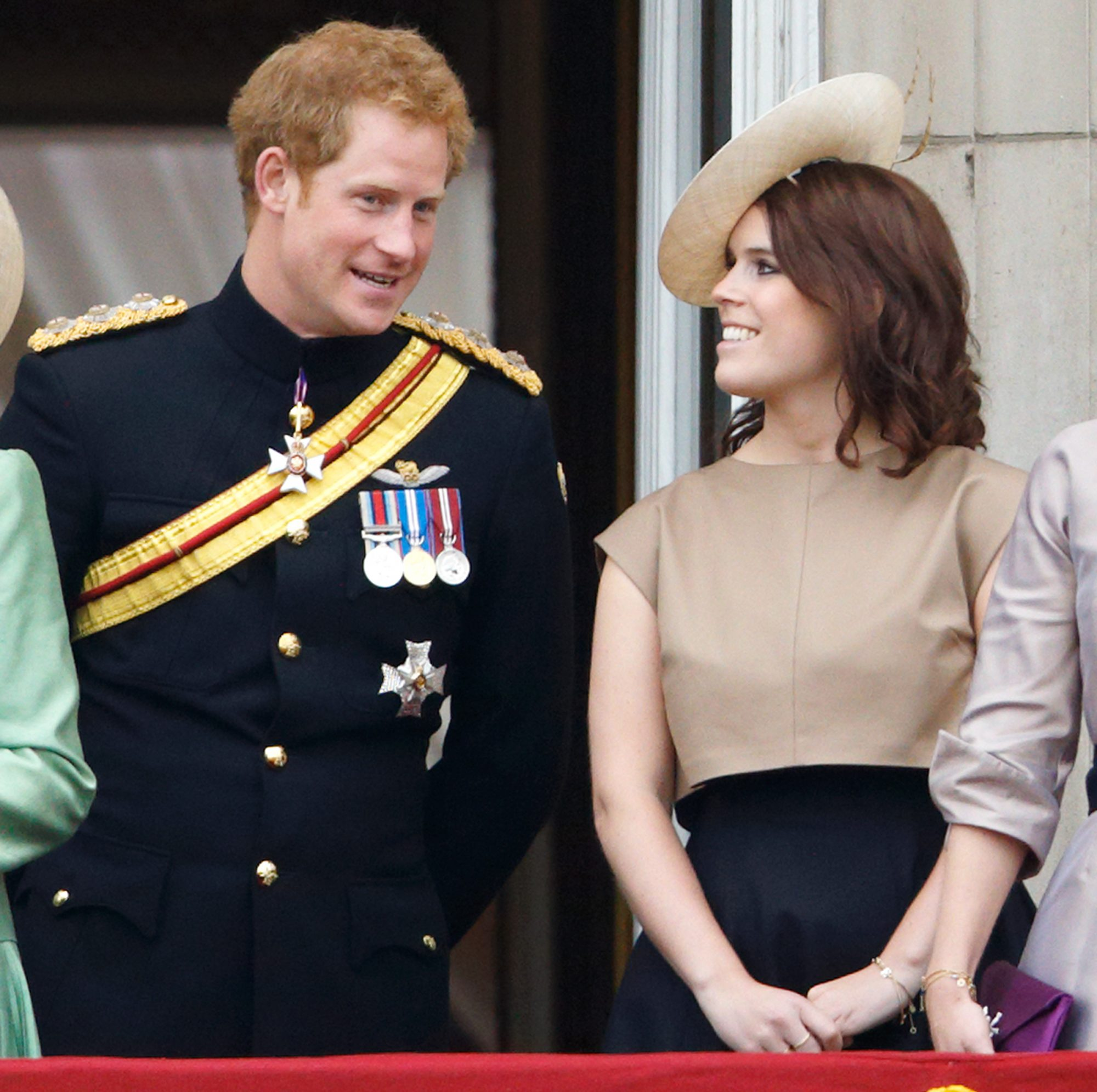 Prince Harry and Princess Eugenie