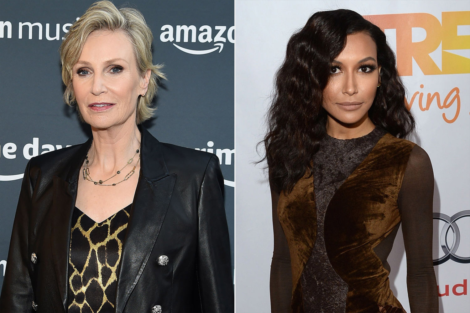Jane Lynch; Naya Rivera