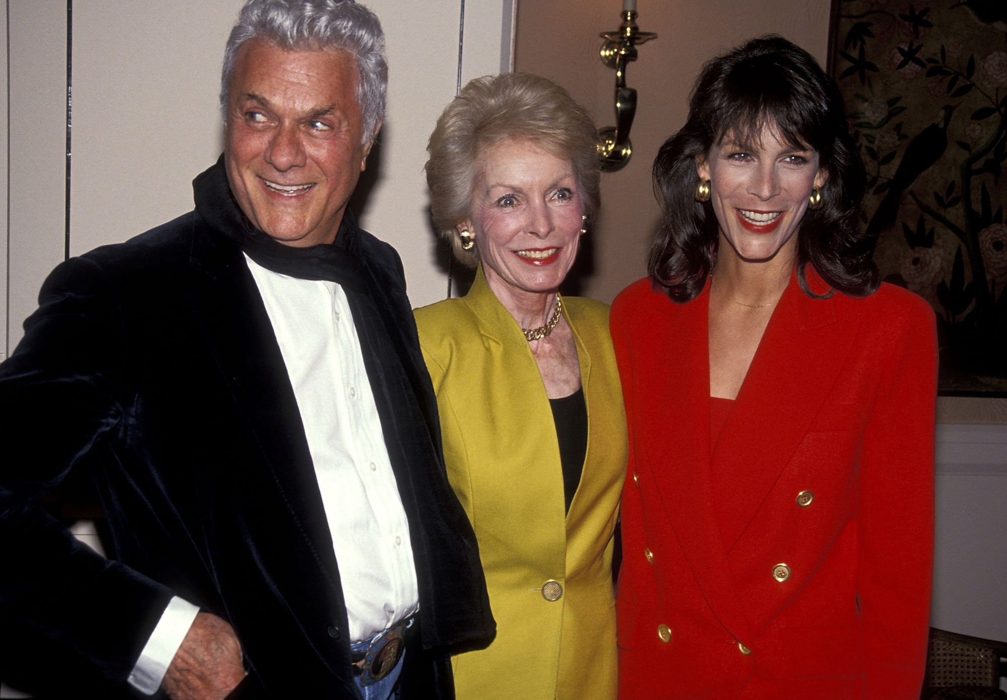 Tony Curtis, Janet Leigh and Jamie Lee Curtis