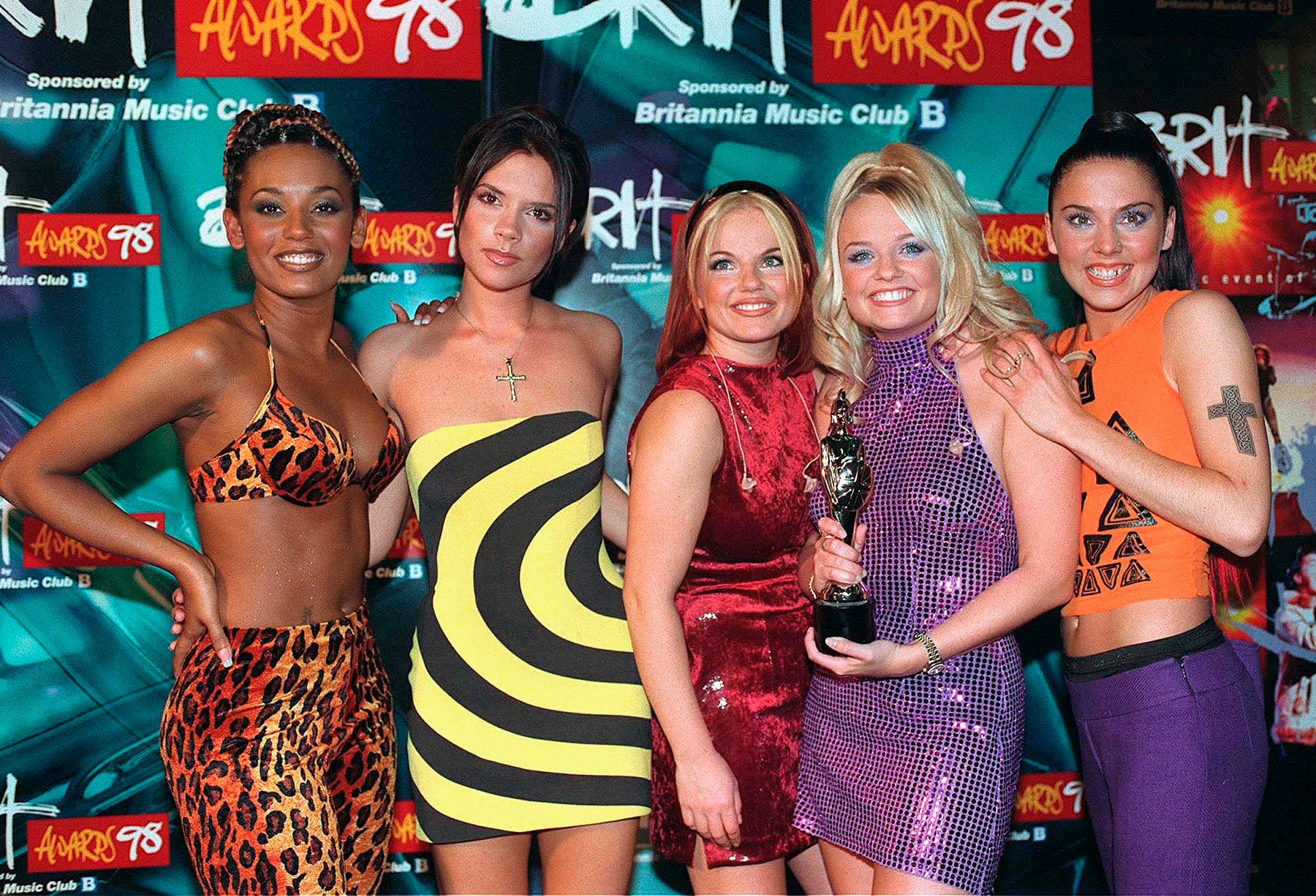 Spice Girls in 1998