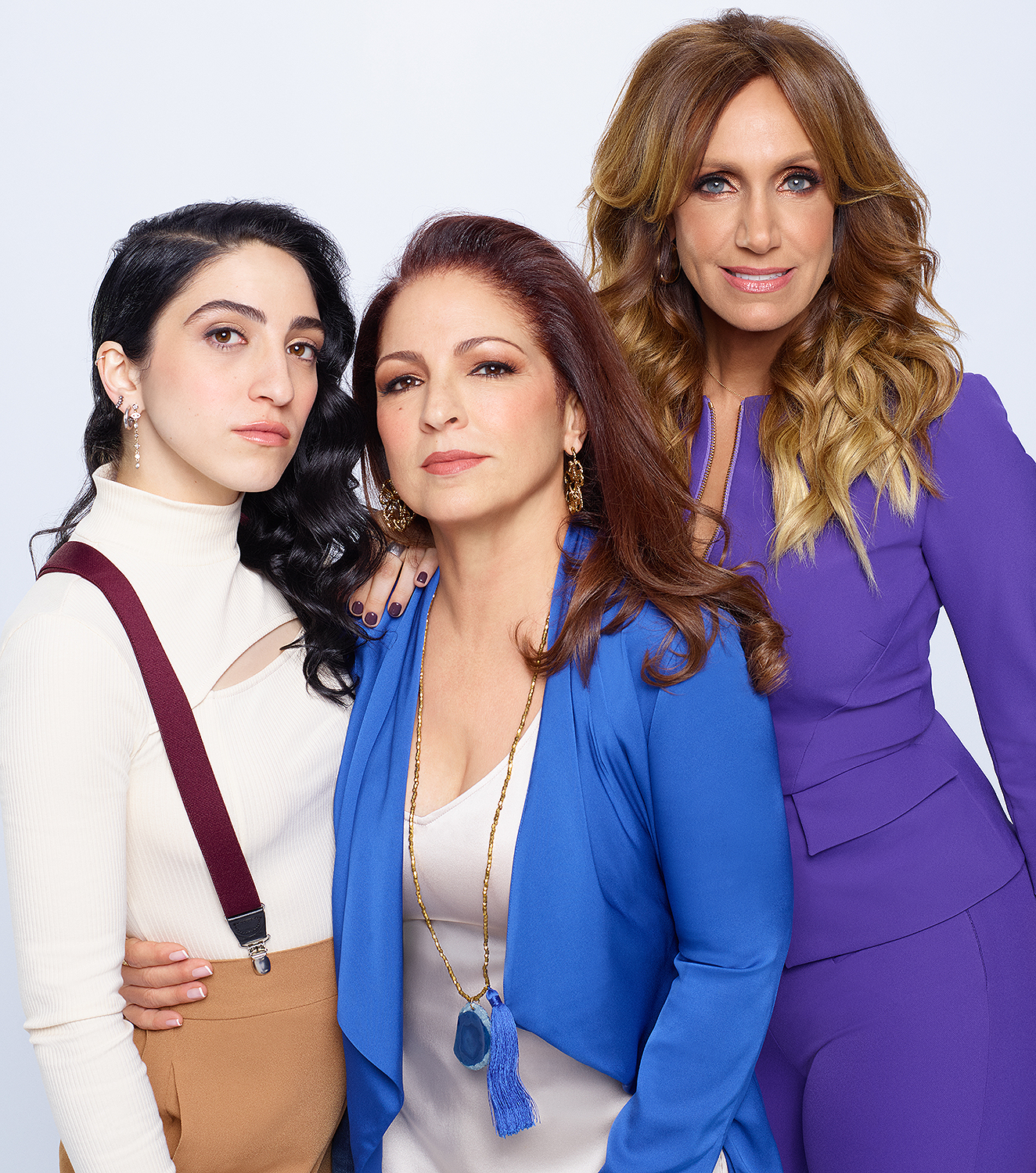 Emily, Gloria and Lili Estefan