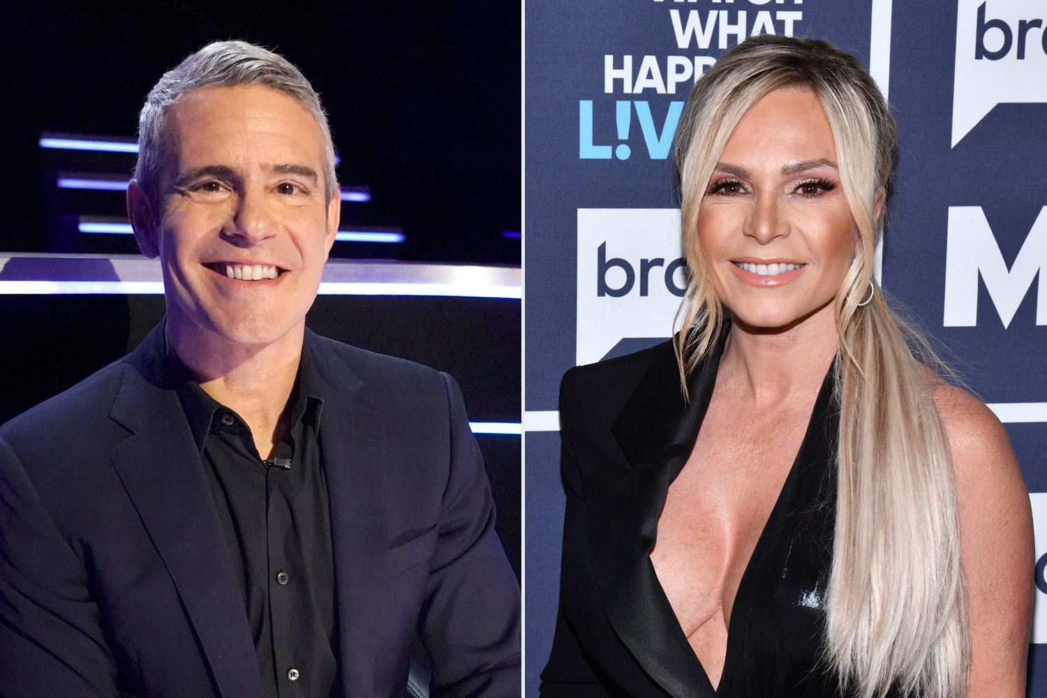Andy Cohen; Tamra Judge