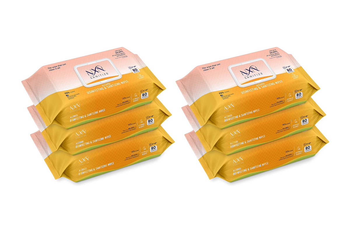 NxN Disinfecting Wipes Disposable Hand Sanitizing Wipes