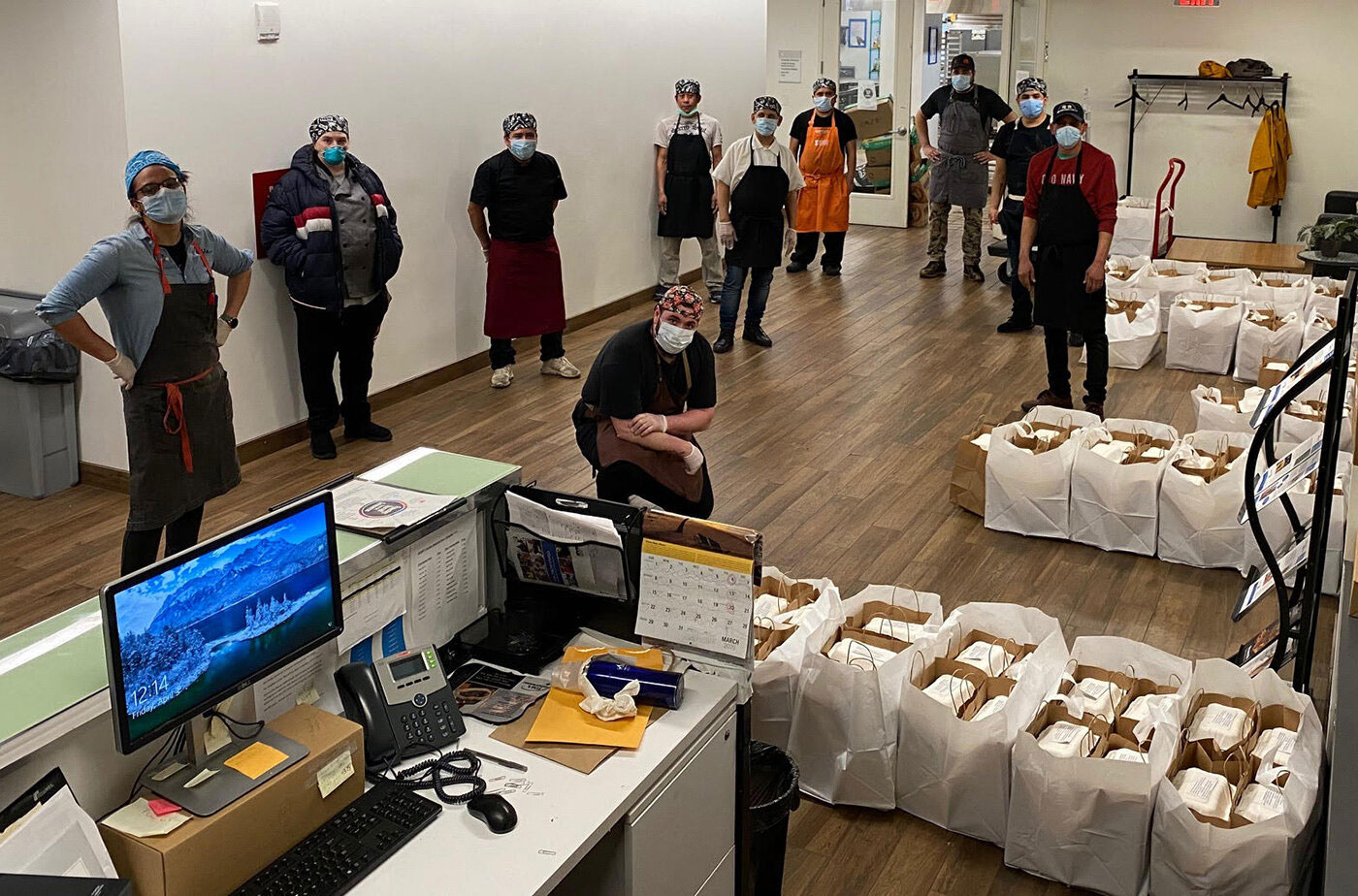 Feed the Polls Initiative to Provide Free Meals to Voters Waiting at Polls on Election Day
