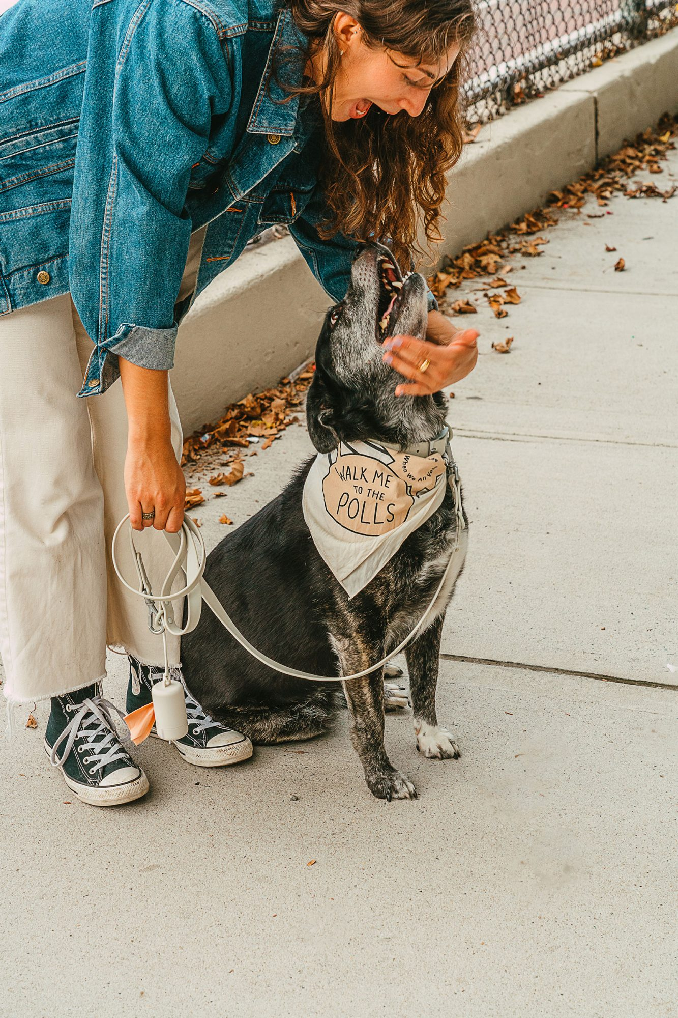 Wild one partners with vote campaign and makes dog gear