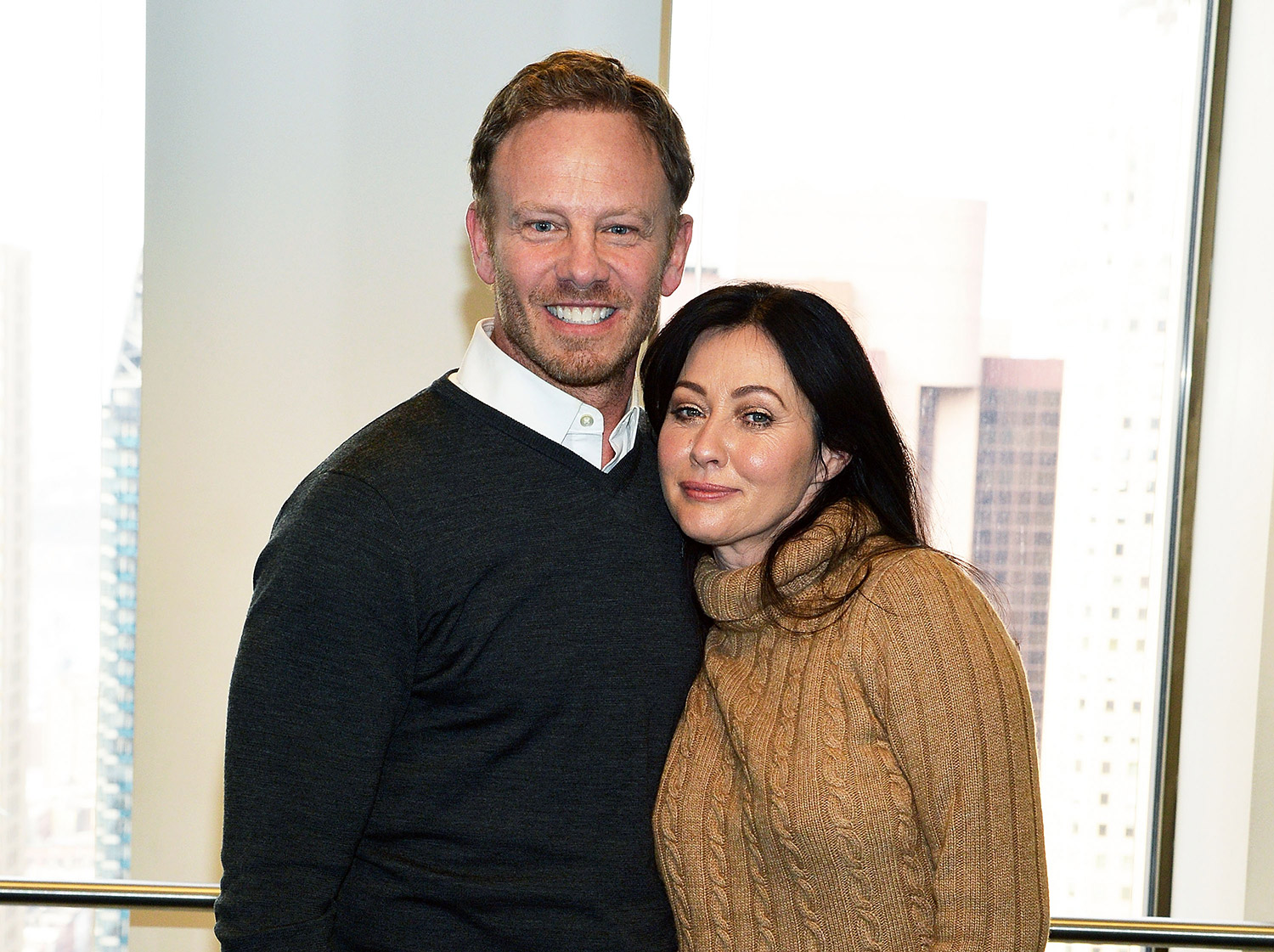 ian ziering and shannen doherty