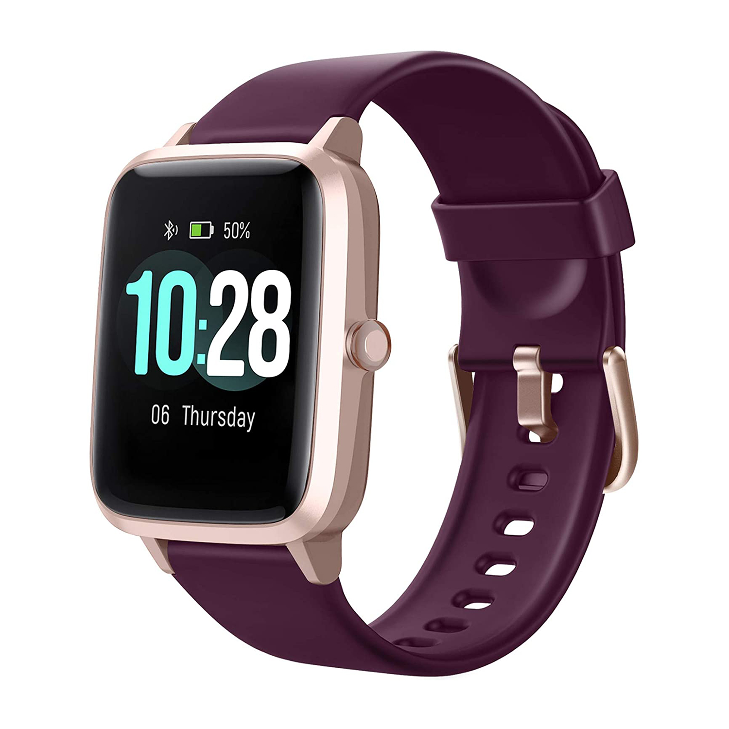 Letsfit Smart Watch, Fitness Tracker with Heart Rate Monitor