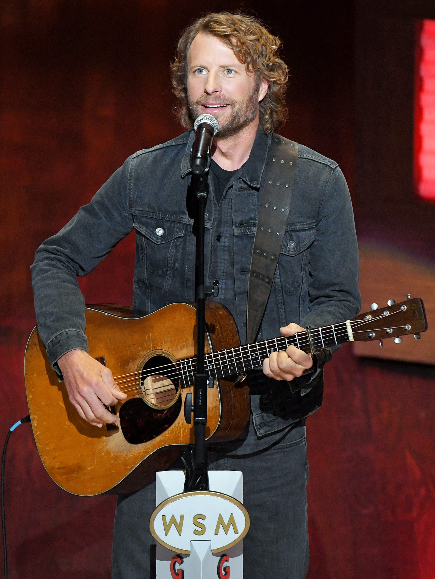 Dierks Bentley performs during the 95th anniversary celebration kick off at The Grand Ole Opry on October 03, 2020 in Nashville, Tennessee