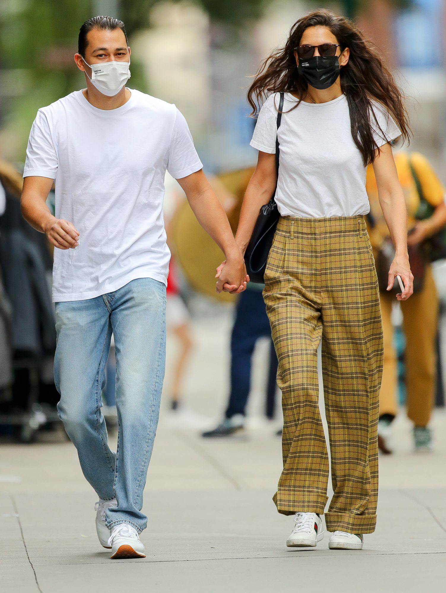 Katie Holmes And Emilio Vitolo Jr. Look Radiant While They Taking A Stroll In SoHo