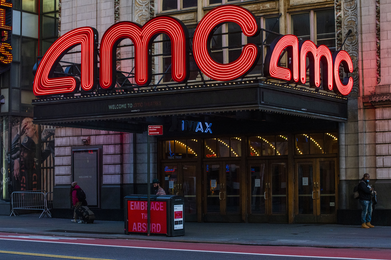 AMC Theater in Times Square