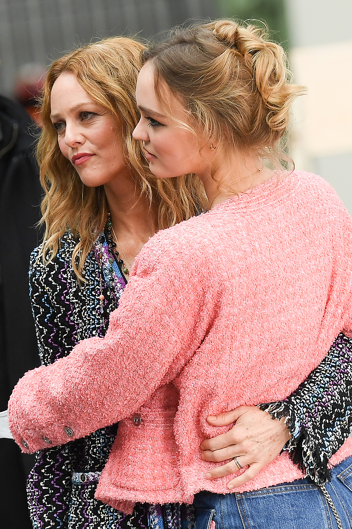 Vanessa Paradis and daughter Lily-Rose Depp