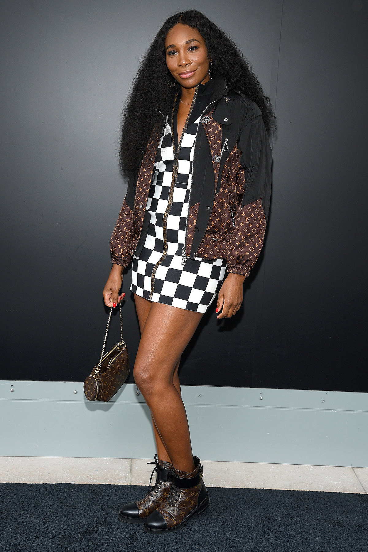 Venus Williams attends the Louis Vuitton Womenswear Spring/Summer 2021 show as part of Paris Fashion Week on October 06, 2020 in Paris, France.