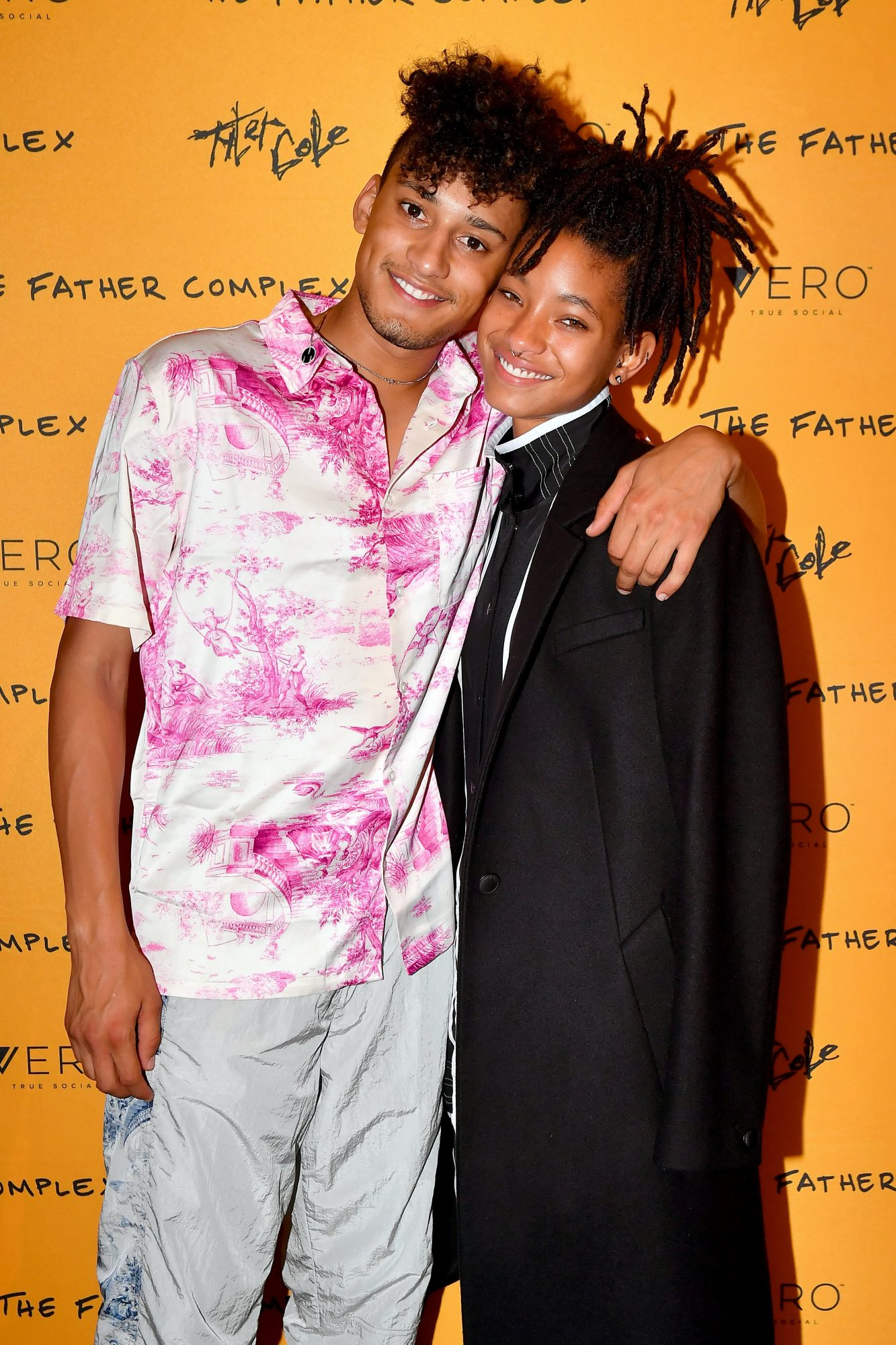 Tyler Cole with Willow Smith