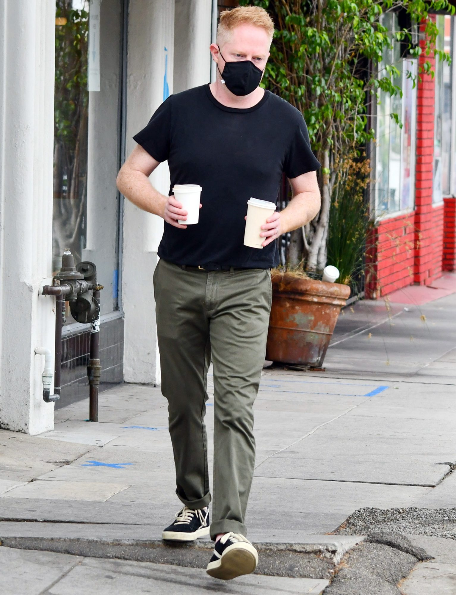 Jesse Tyler Ferguson Seen Out And About In LA