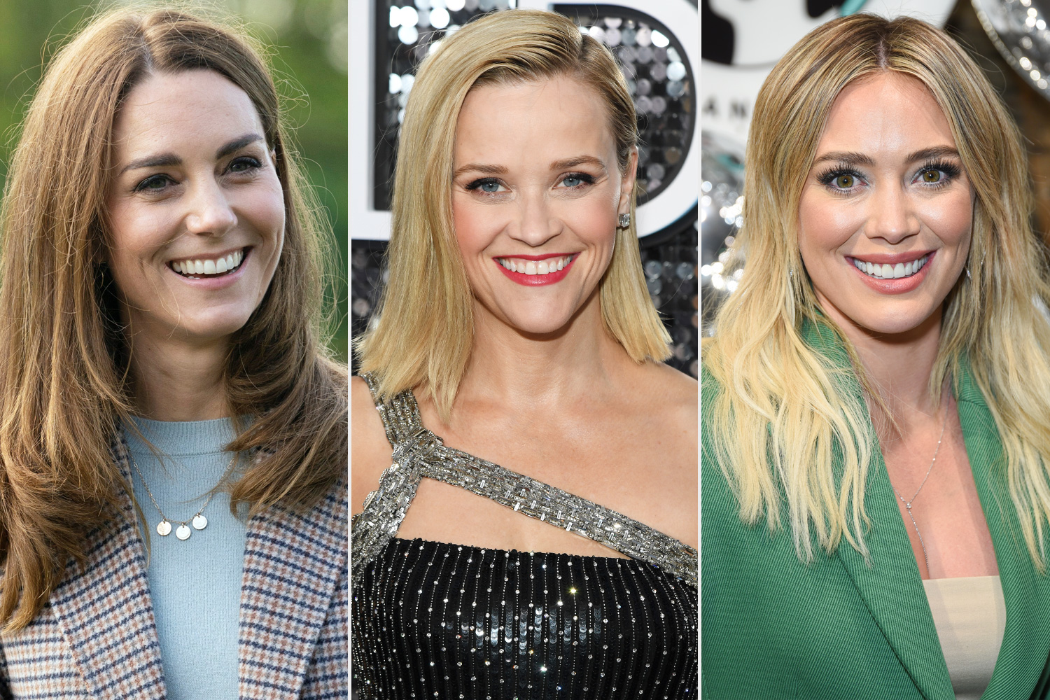 Catherine, Duchess of Cambridge, Reese Witherspoon, Hilary Duff