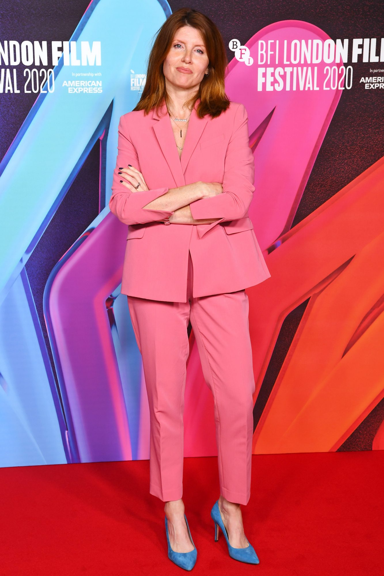 """Sharon Horgan attends the """"Herself"""" premiere during the 64th BFI London Film Festival at BFI Southbank on October 08, 2020"""