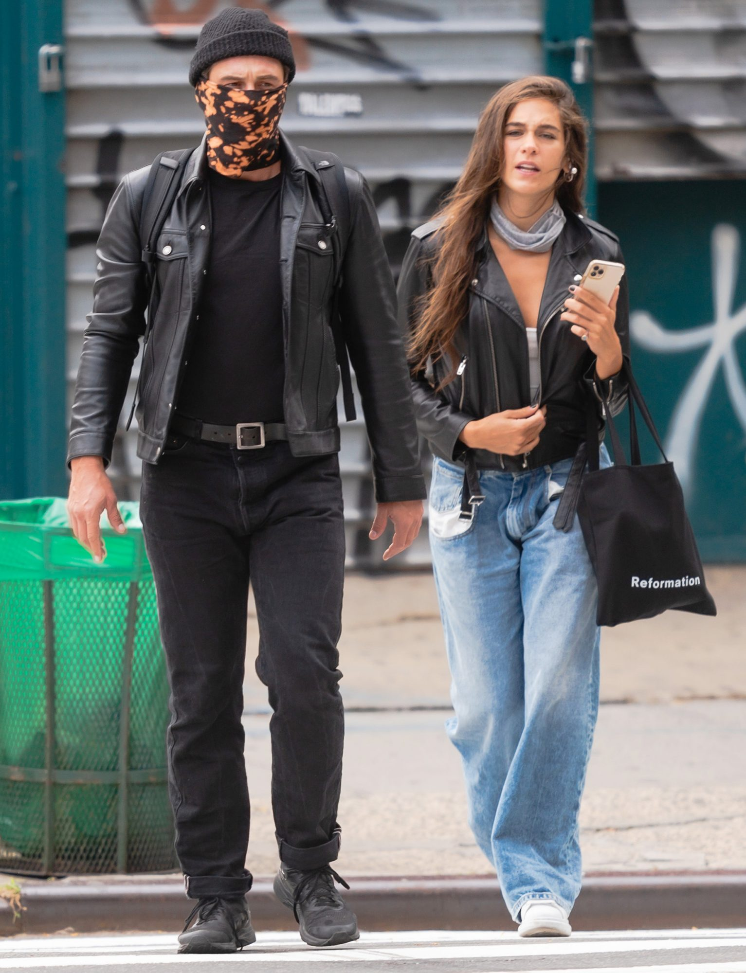 EXCLUSIVE: James Franco and Isabel Pakzad Have a Spa Day in New York City