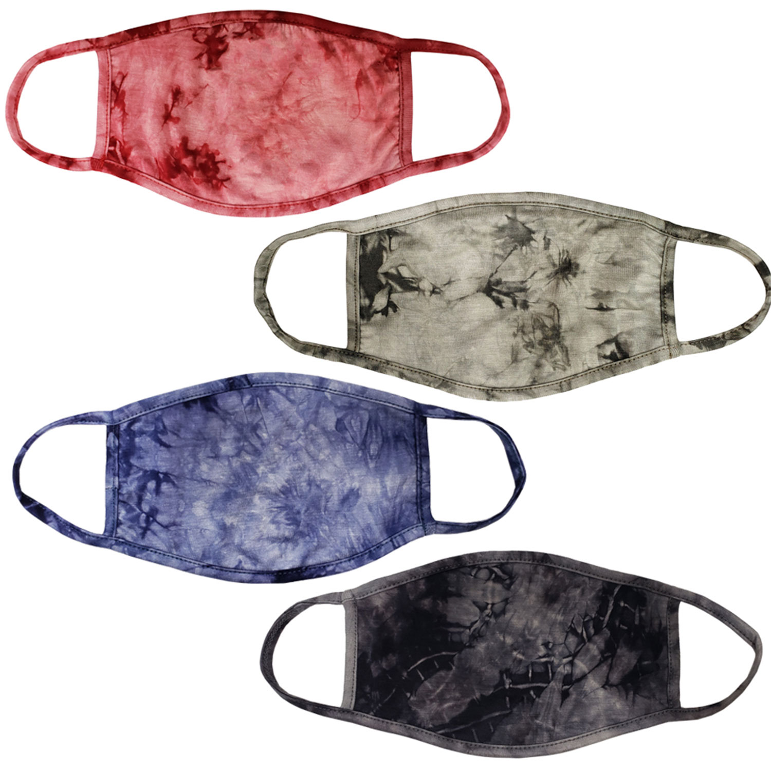 tie-dye unisex face mask, washable