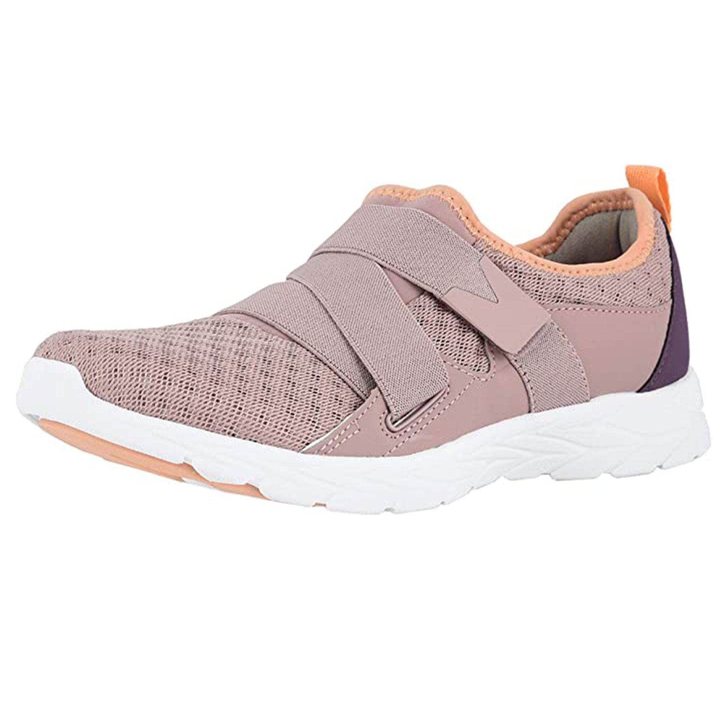 vionic womens brisk walking shoes, blush