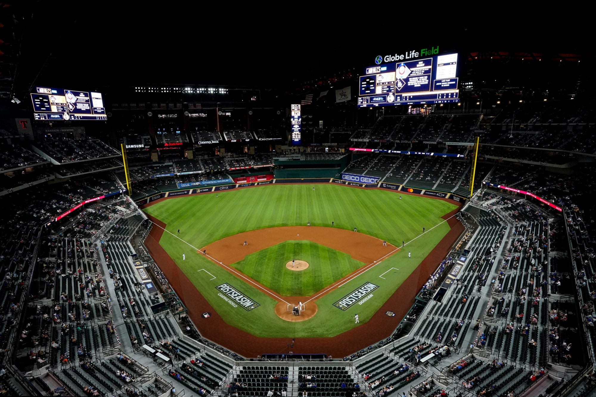 National League Championship Series between the Los Angeles Dodgers and the Atlanta Braves