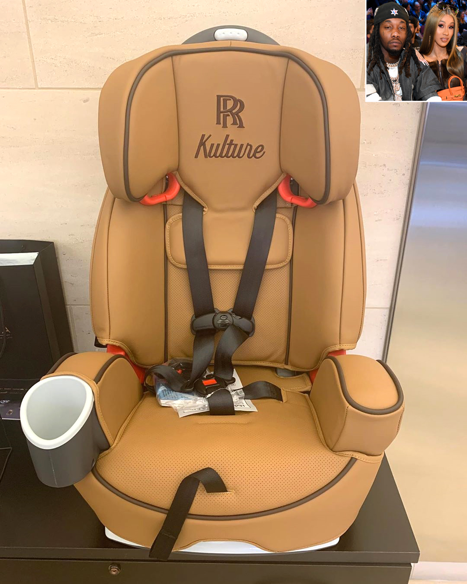 8 thousand dollar car seat and i bet it has peanut butter and jelly on it in 1 week