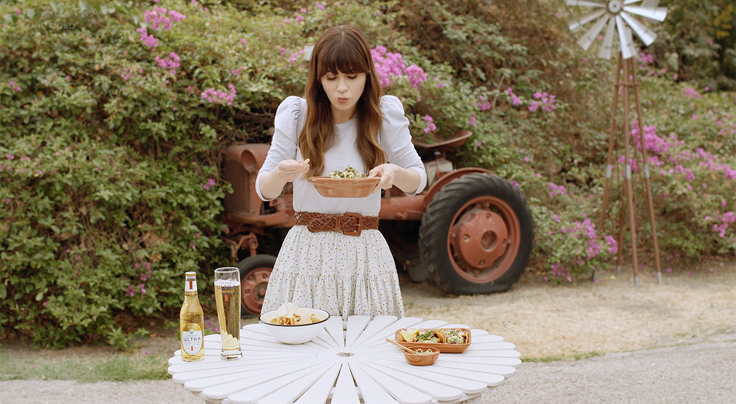 Zooey Deschanel food series