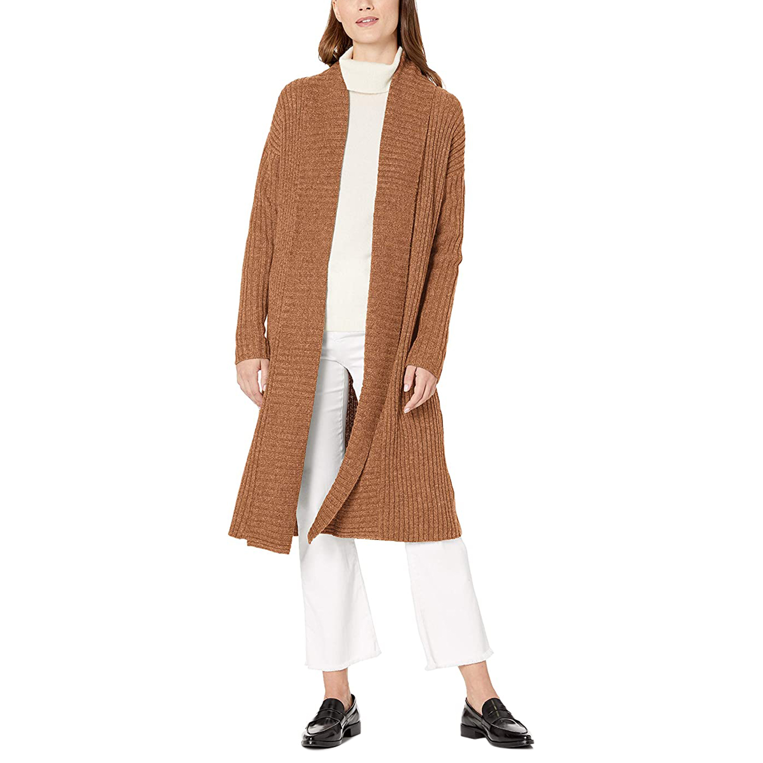 Amazon Essentials Women's Oversized Open Front Sweater Coat
