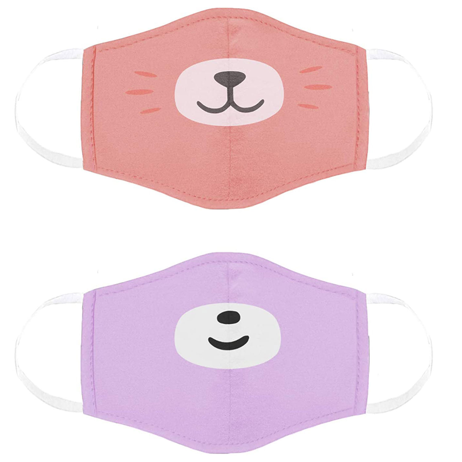 cubcoats kids face mask two pack