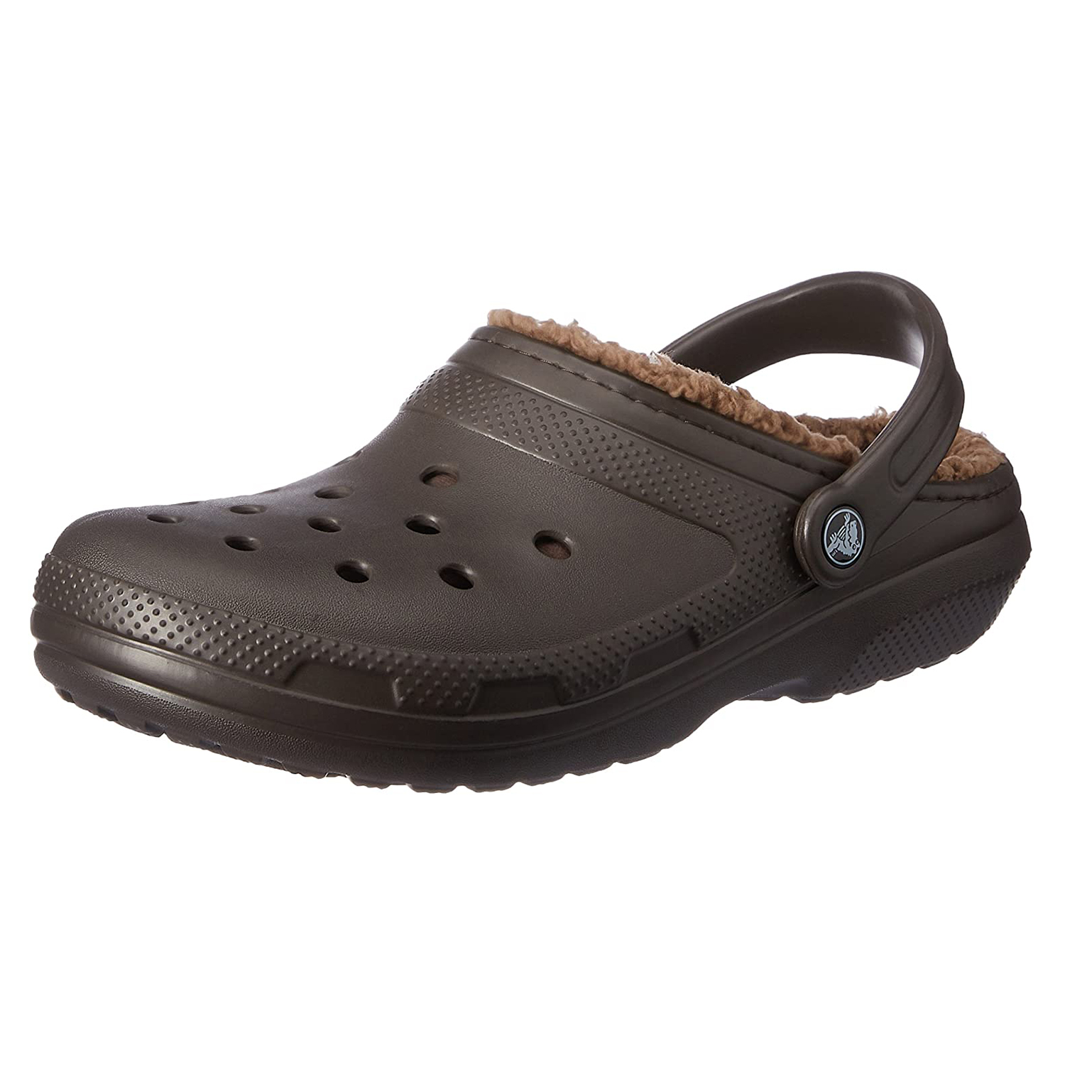 Crocs Men's and Women's Fuzzy-Lined Slippers