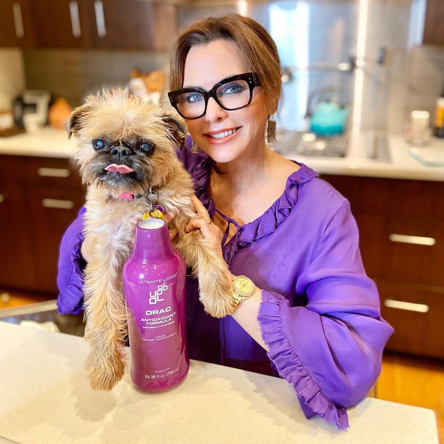 Real Housewives of Dallas star D'Andra SImmons' beloved dog Dixie passed away at age 14