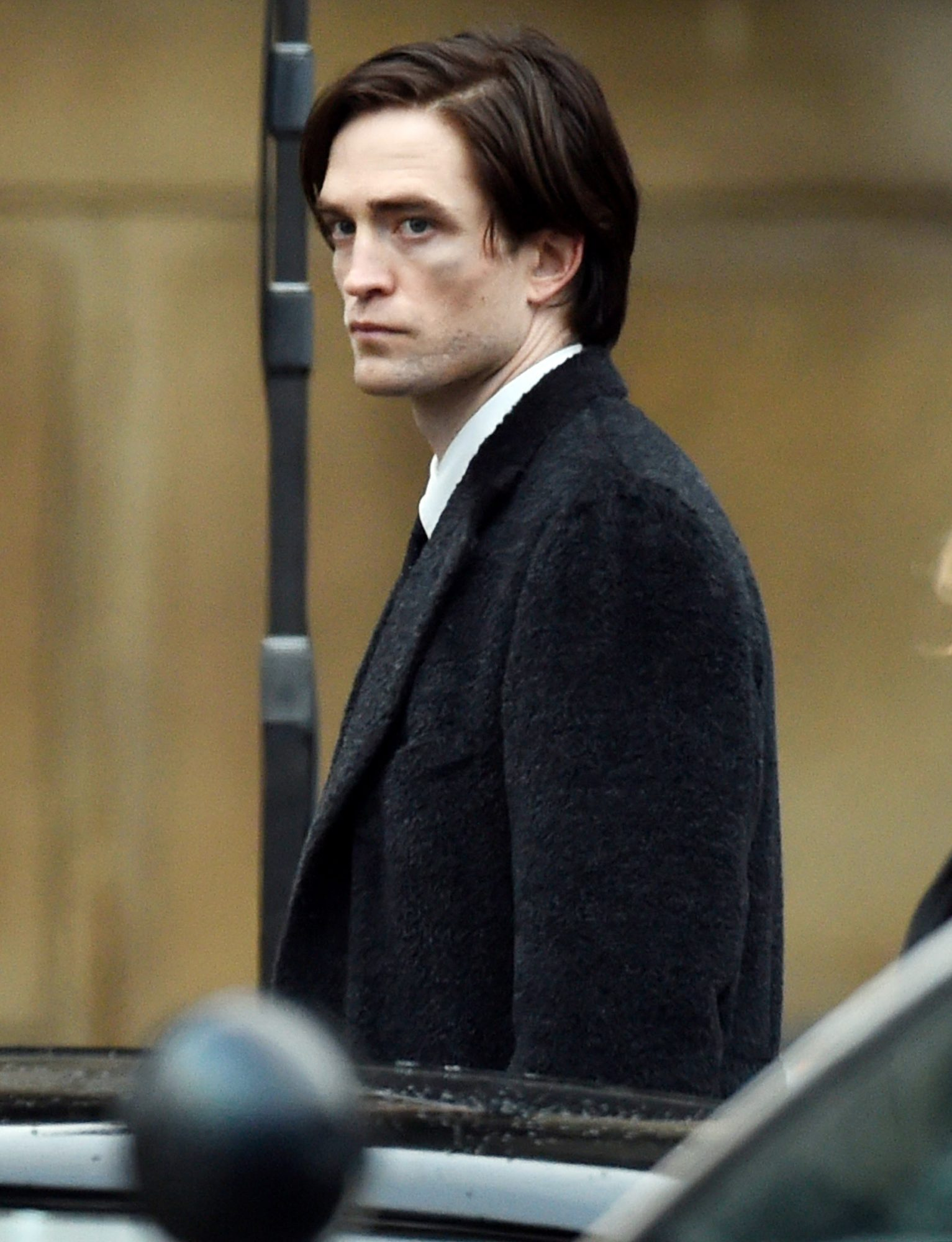 Robert Pattinson on location for 'The Batman'