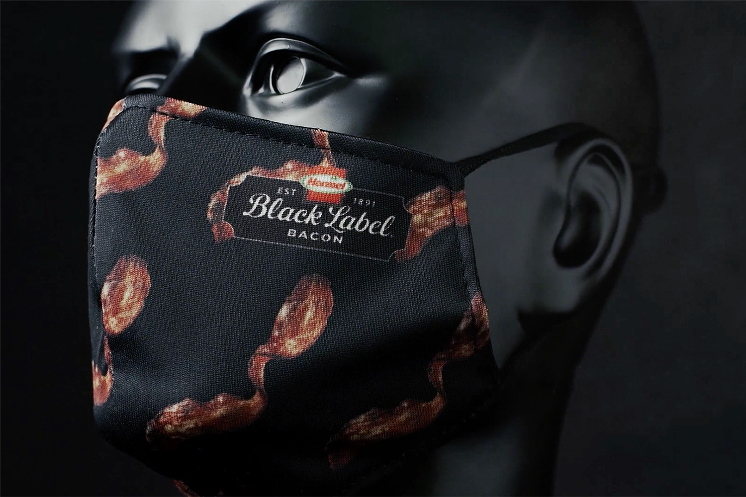 bacon scented mask