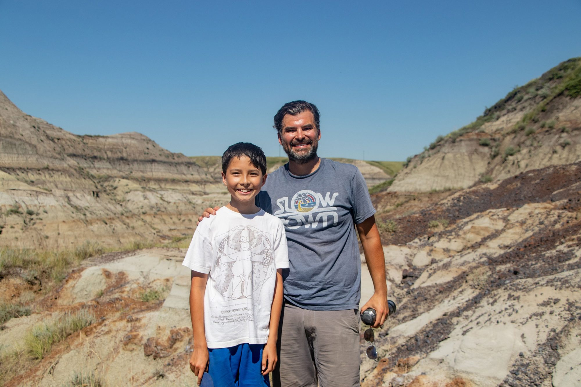 Twelve-year old boy finds dinosaur fossil at Nature Conservancy of Canada Horseshoe Canyon site