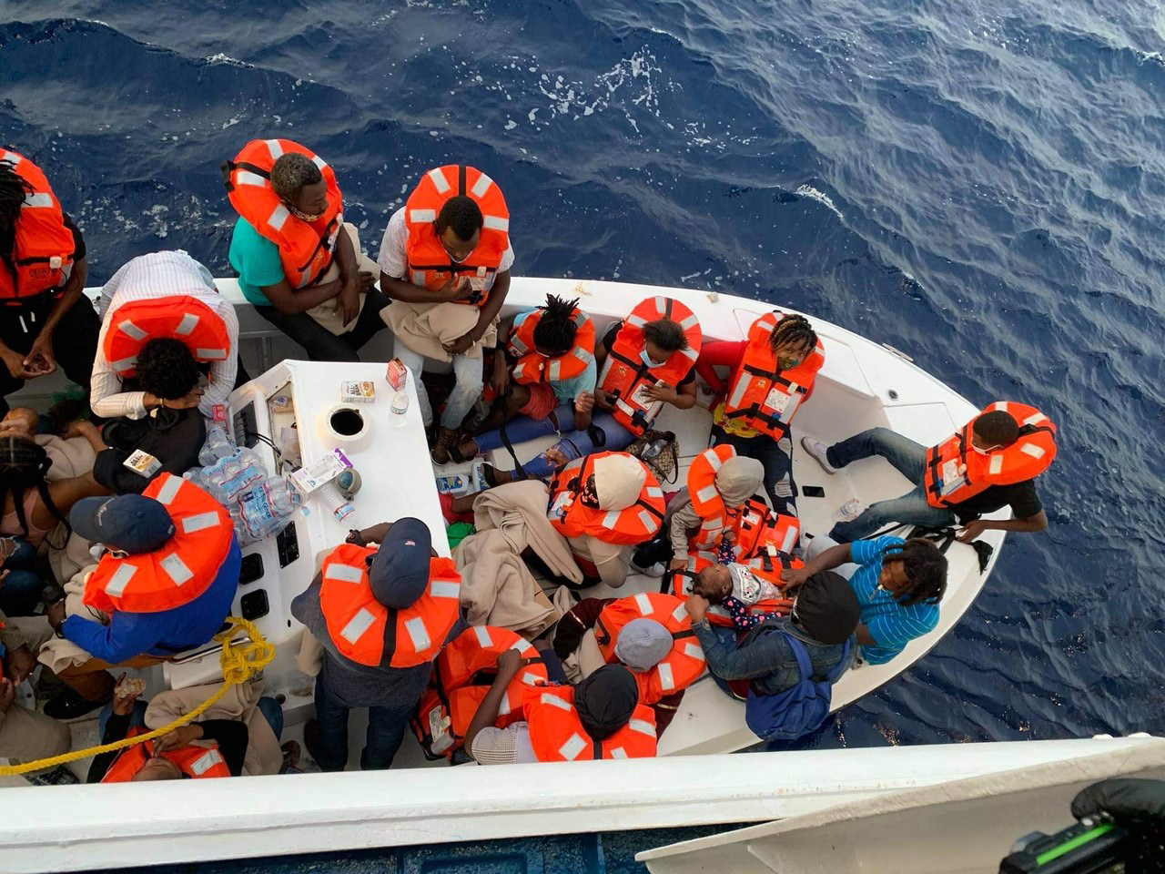 Carnival Sensation Assists Small Craft in Distress