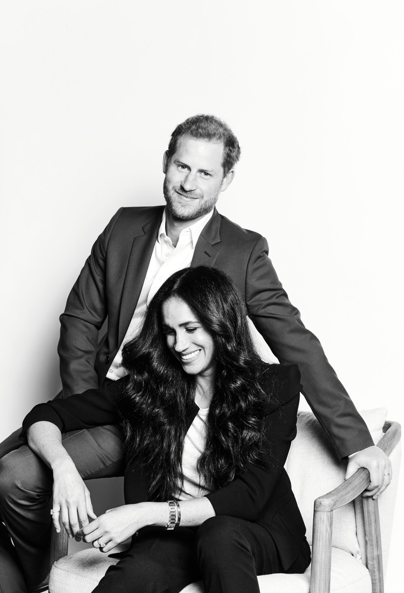 Prince Harry and Meghan Markle shot for the Time 100 event